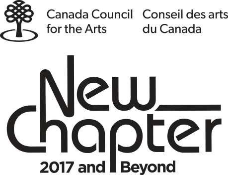Canada Council New Chapter logo